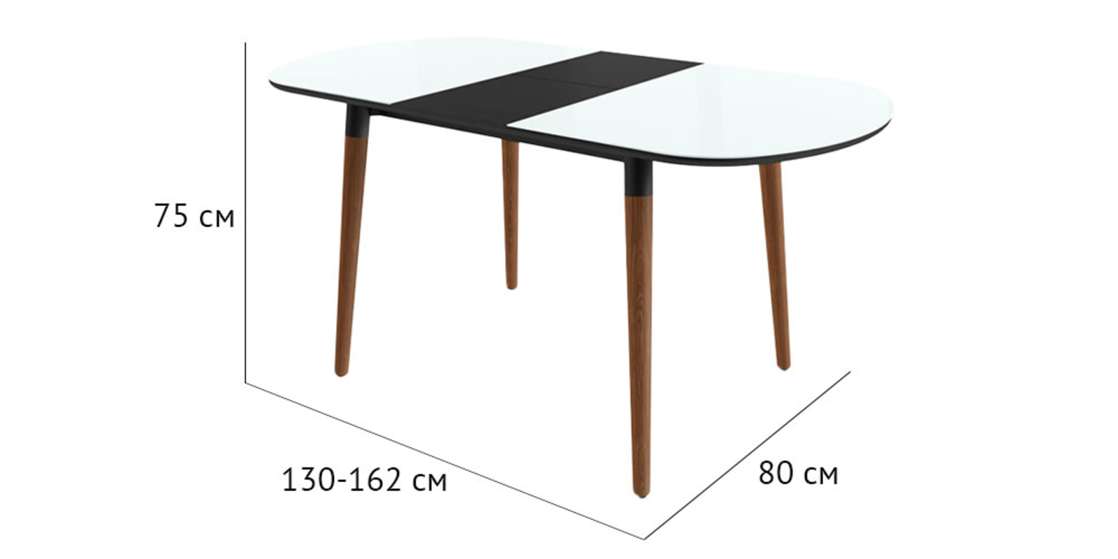 Стол обеденный HomeMe от HomeMe.ru