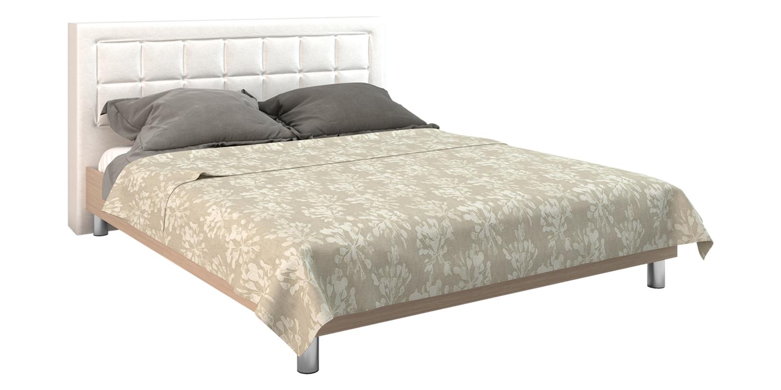 Кровать каркасная Дельта с ортопедическим основанием (Бежевый) от HomeMe.ru