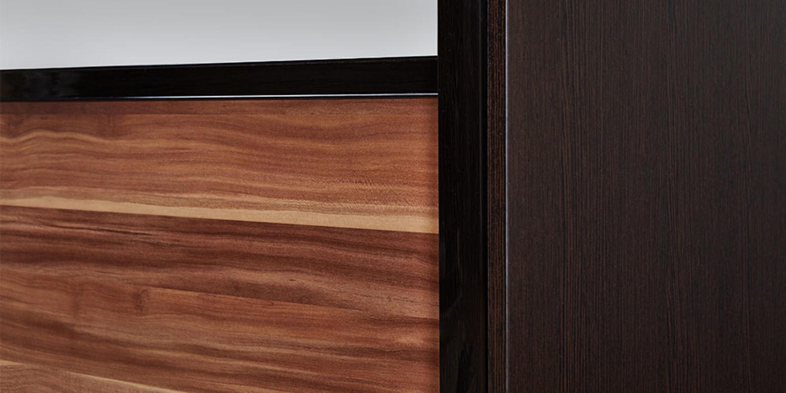 Купить шкаф-купе двухдверный корсика вариант 2 - 180 см (сли.