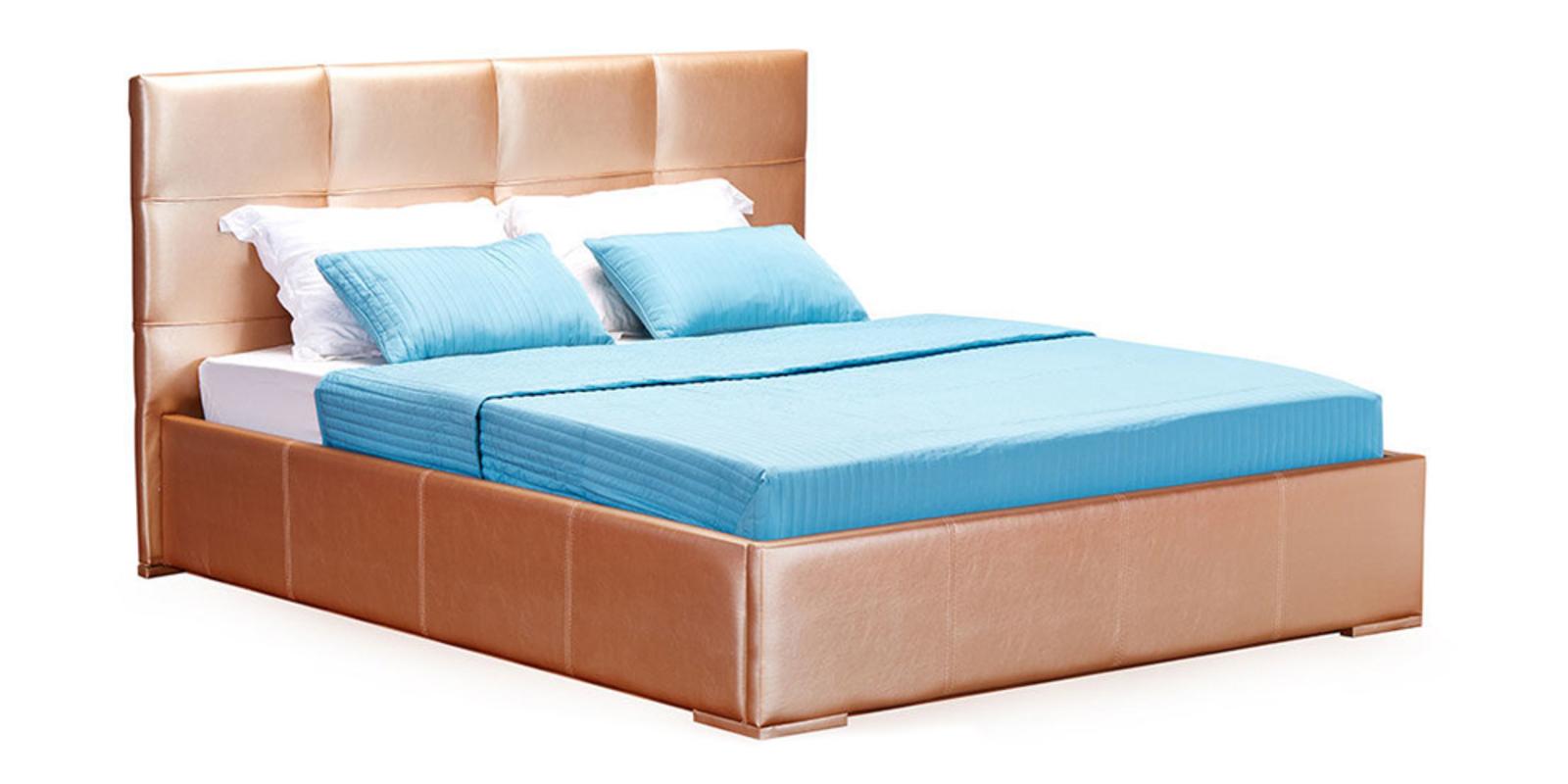 Кровать мягкая Лайф (Золото)