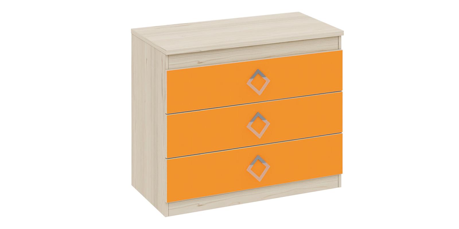 Комод Салоу с 3-мя ящиками (каттхилт/манго)