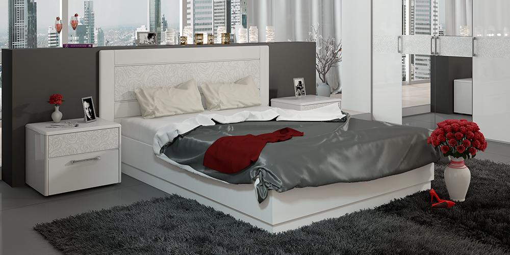 Кровать каркасная HomeMe от HomeMe.ru