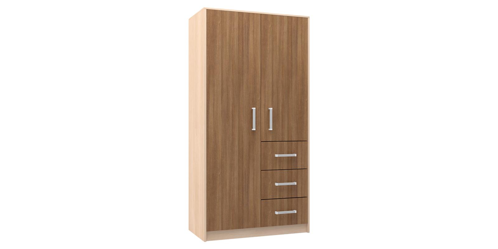 Шкаф распашной двухдверный HomeMe Лакки ADZ0489000