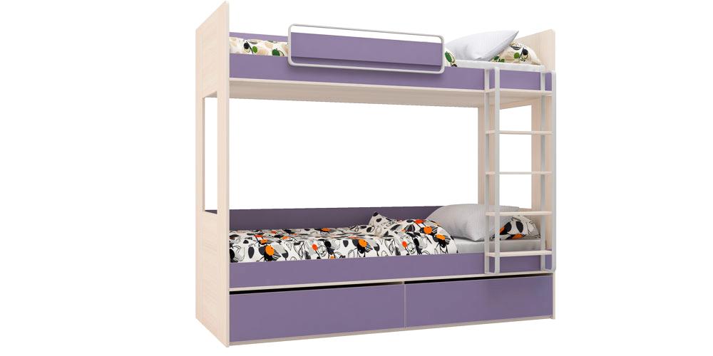 Кровать двухъярусная 80х200 см HomeMe от HomeMe.ru