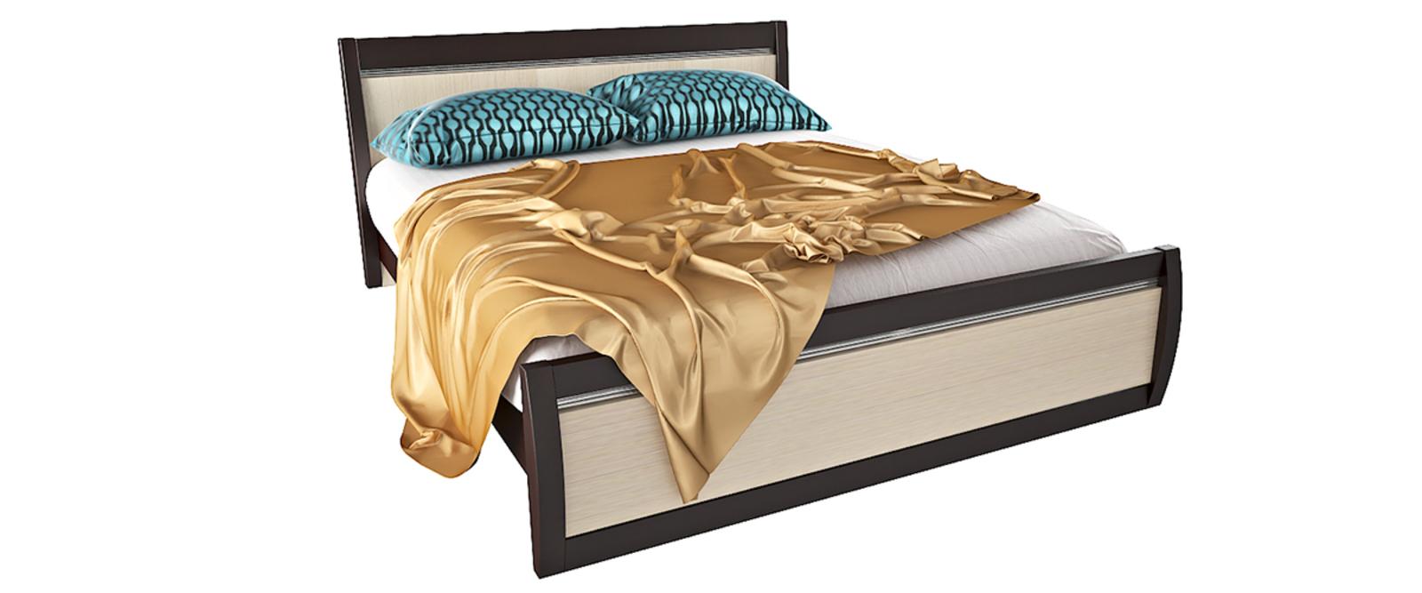 Кровать каркасная Корсика без подъемного механизма (Ясень глянец)