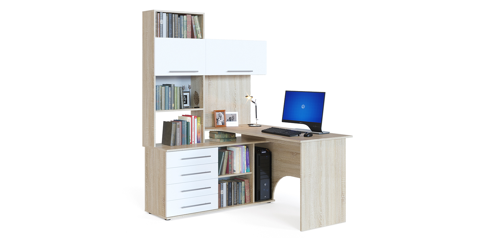 Стол компьютерный HomeMe Мерида AFU0102000