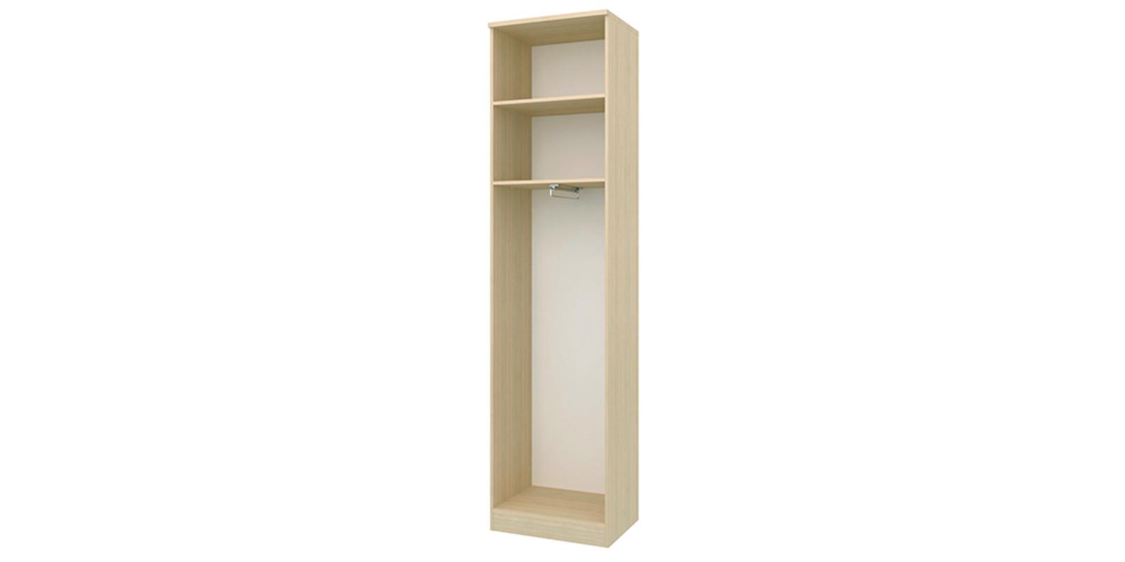 Шкаф распашной двухдверный Мекка вариант №1 (дуб молочный) от HomeMe.ru