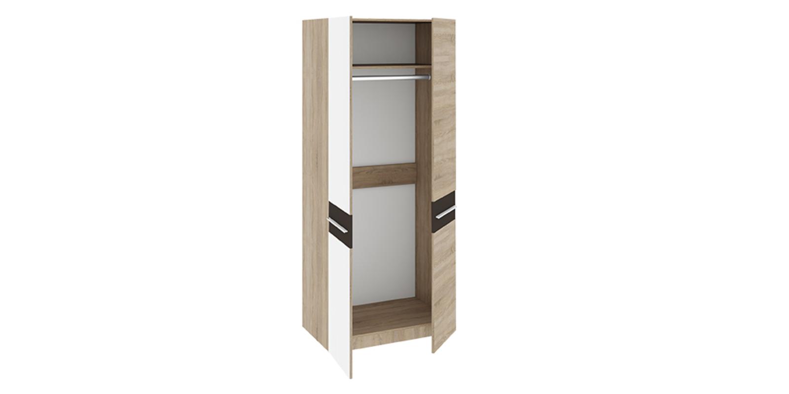 Largo шкаф для одежды с 2-мя зеркальными дверями рио мебель.