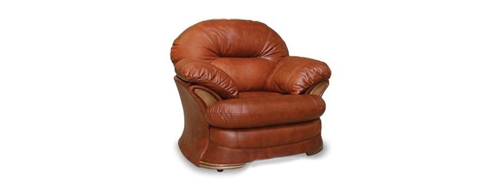 Кресло кожаное HomeMe от HomeMe.ru