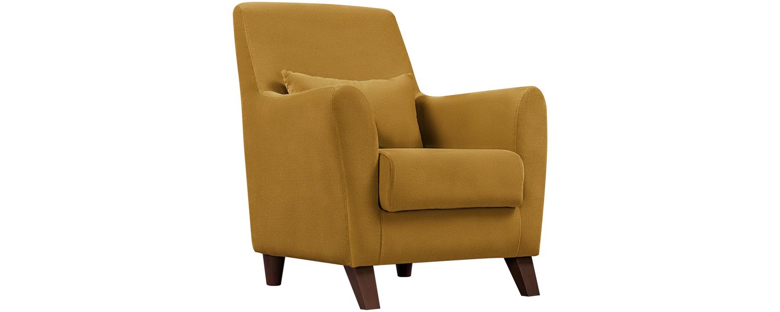 Кресло тканевое Либерти Elegance желтый (Ткань)