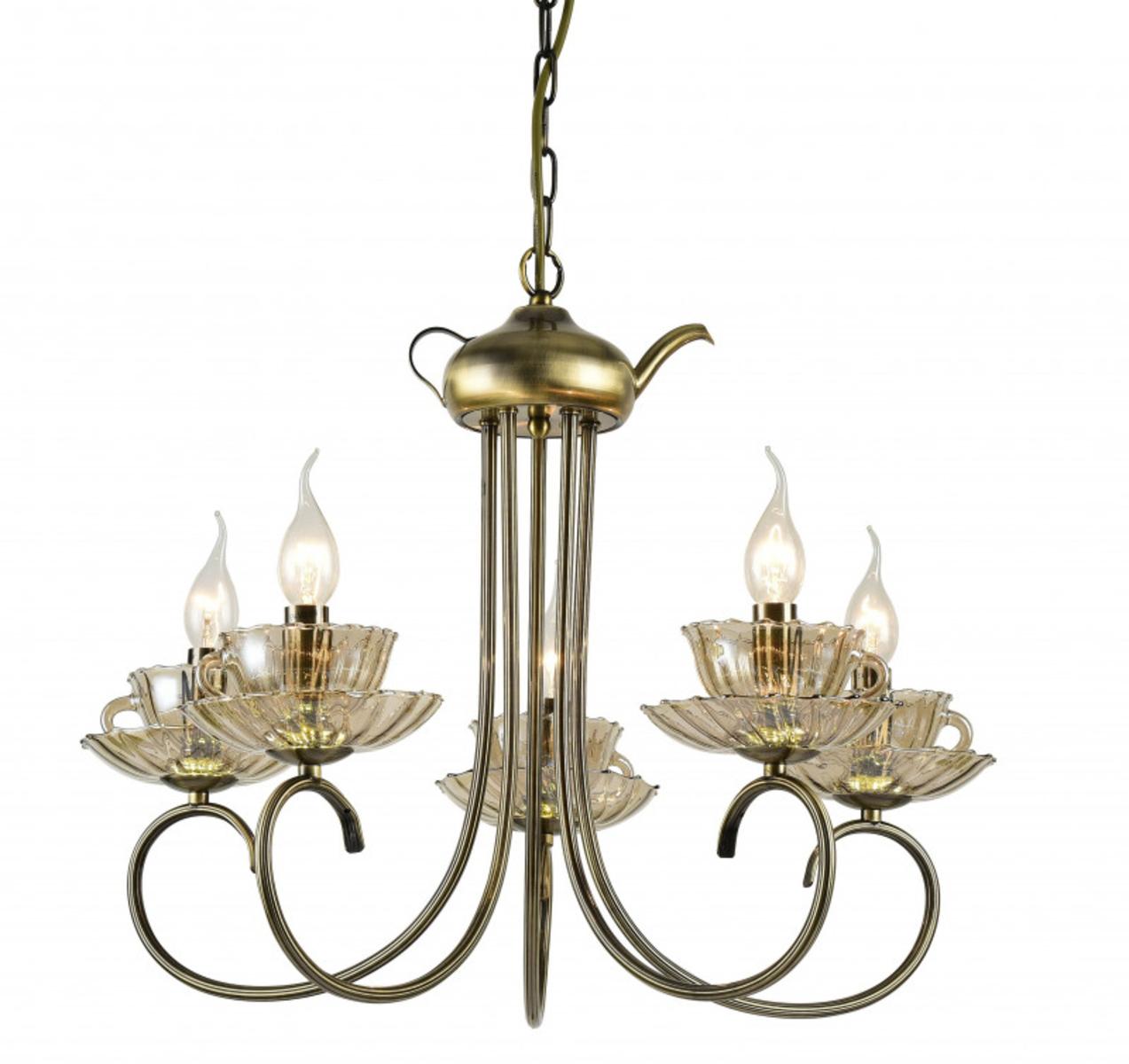 Купить Подвесная люстра TET-A-TET Подвесная люстра ARTE Lamp A1750LM-5AB (13777), HomeMe