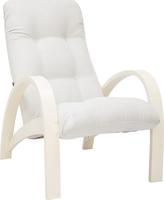 Кресло для отдыха Модель S7 Дуб шампань/шпон, ткань Verona Light Grey