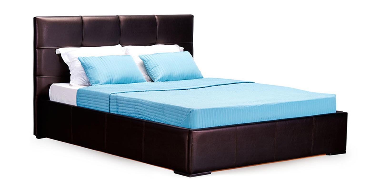 Кровать мягкая Лайф без подъемного механизма (Шоколад)