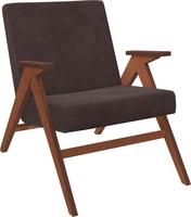 Кресло для отдыха Вест Орех, ткань Verona Wenge, кант Verona Wenge