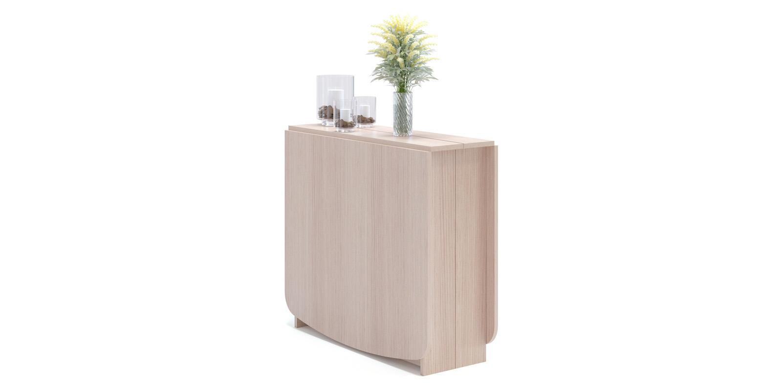 Обеденный стол Тадли (беленый дуб)