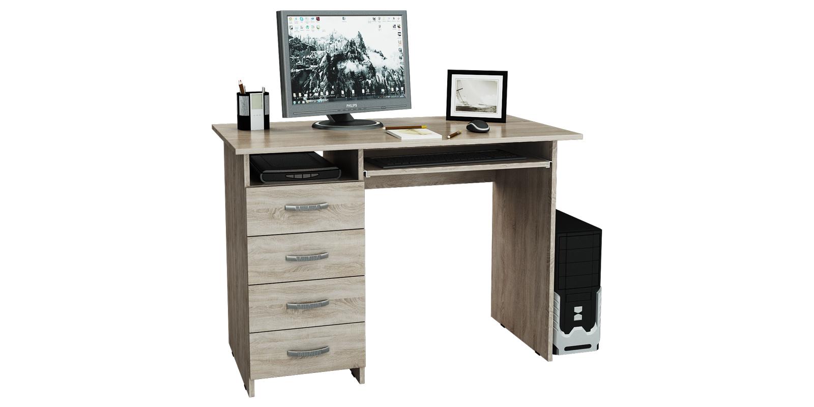 Стол компьютерный Харви (дуб сонома)