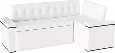 Диван кухонный угловой Лагуна White со спальным местом