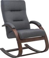 Кресло Leset Милано Орех текстура, ткань Малмо 95