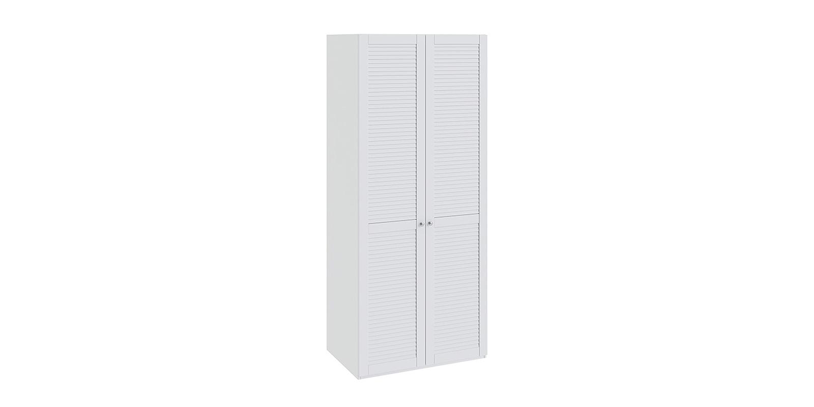 Шкаф распашной двухдверный Мерида вариант №2 (белый)