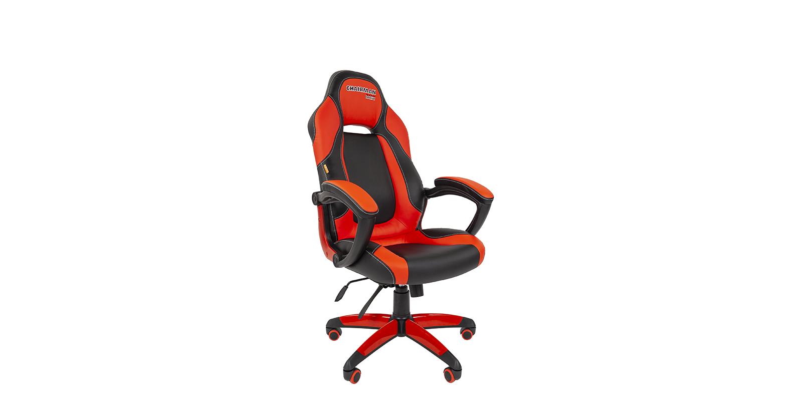 Игровое кресло Chairman game 20 (черный/красный)