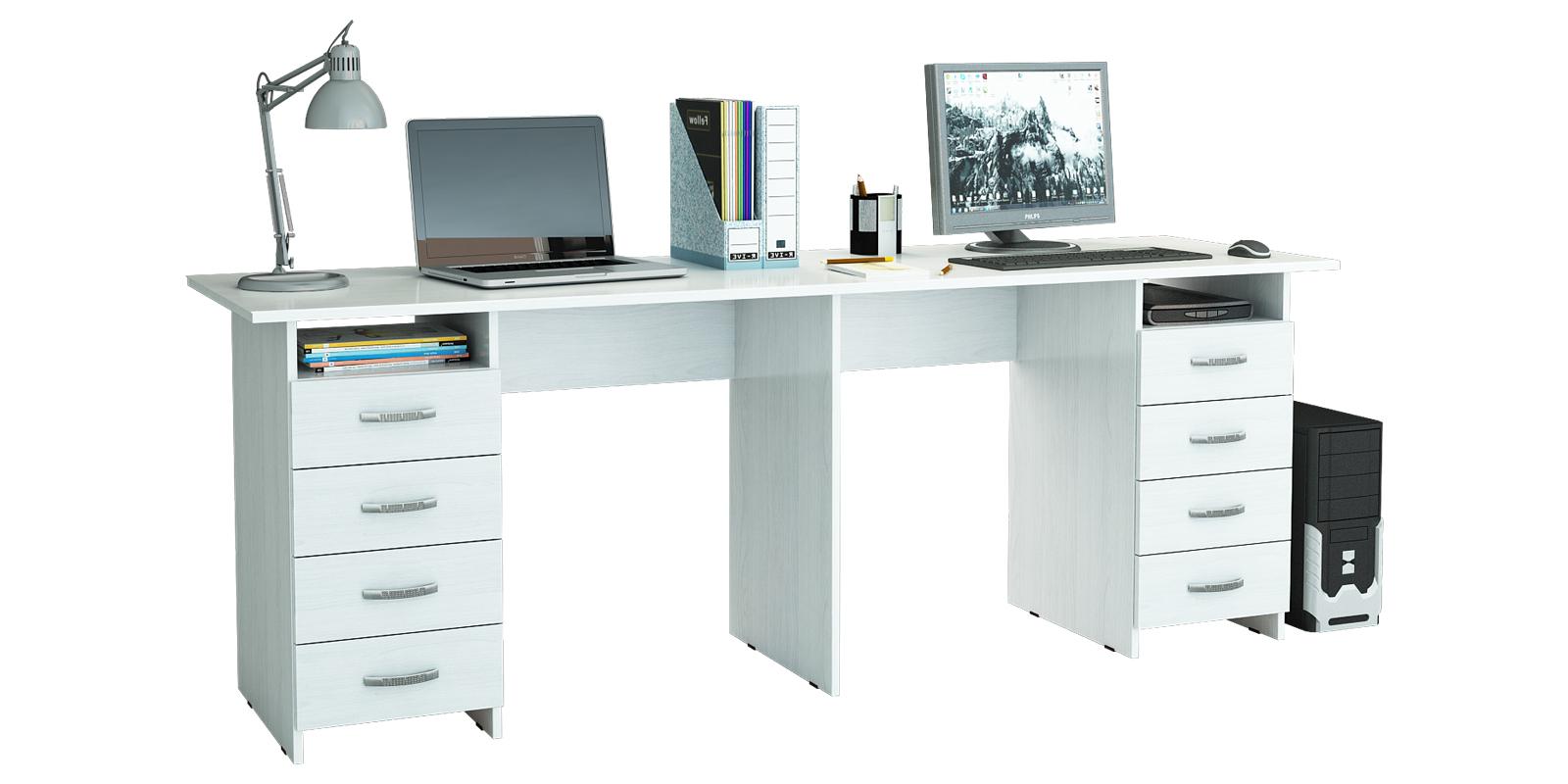 Стол письменный кейптаун вариант 3 (белый) кейптаун столы и .