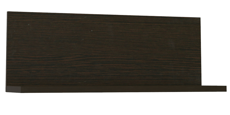 Полка Верона 90 см (венге)