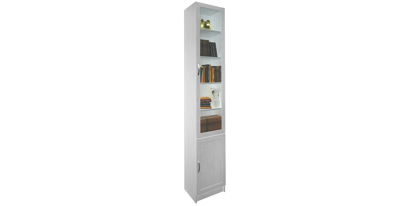 Витрина Дрезден вариант №1 40 см (белый) от HomeMe.ru