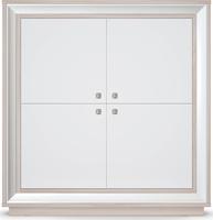 Шкаф 4-х дв. 1364 низкий Прато