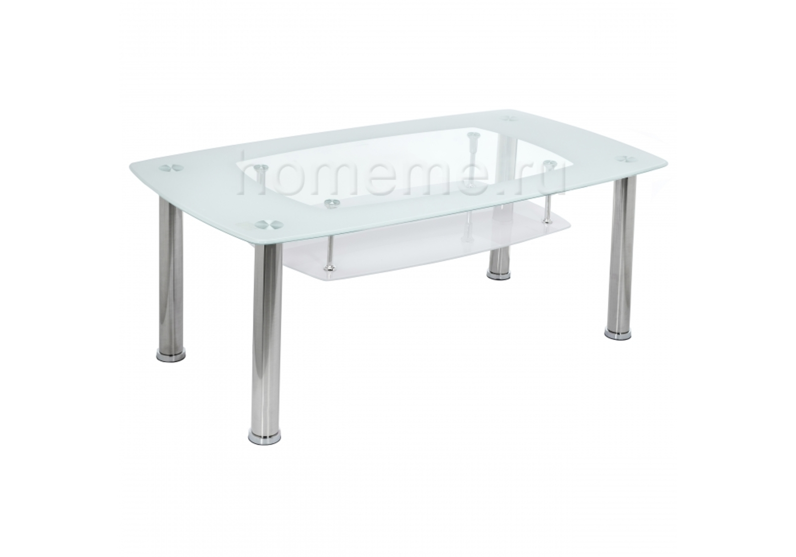 Стол стеклянный Tener белый 11442 Tener белый 11442 (17198)