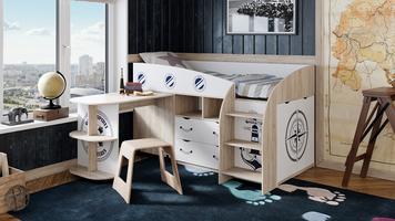 Кровать комбинированная «Немо»