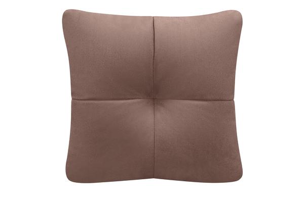 Декоративная подушка Барон Velure коричневый (Велюр)