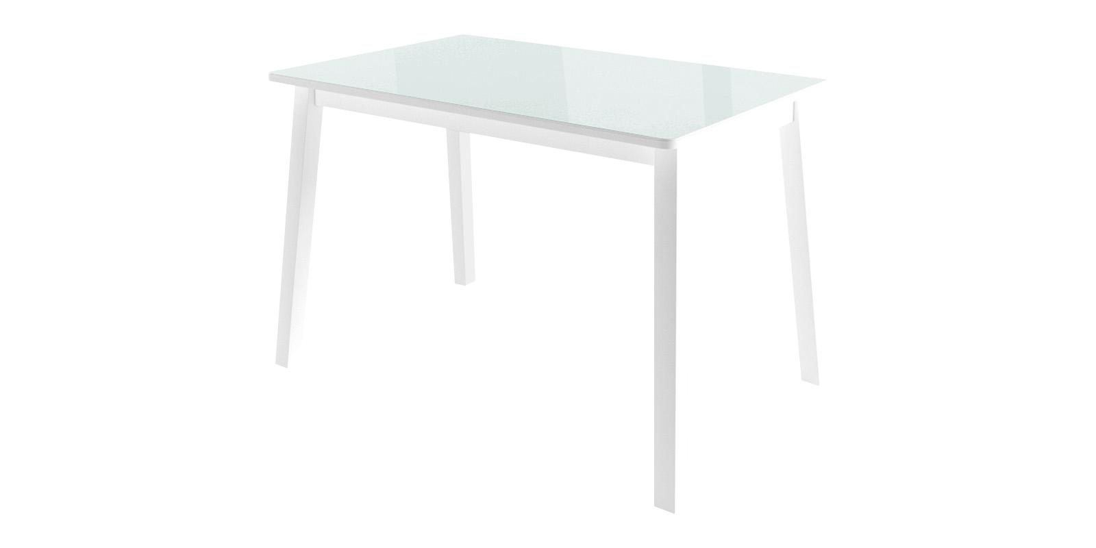 Обеденный стол Тирк 2 (белый)