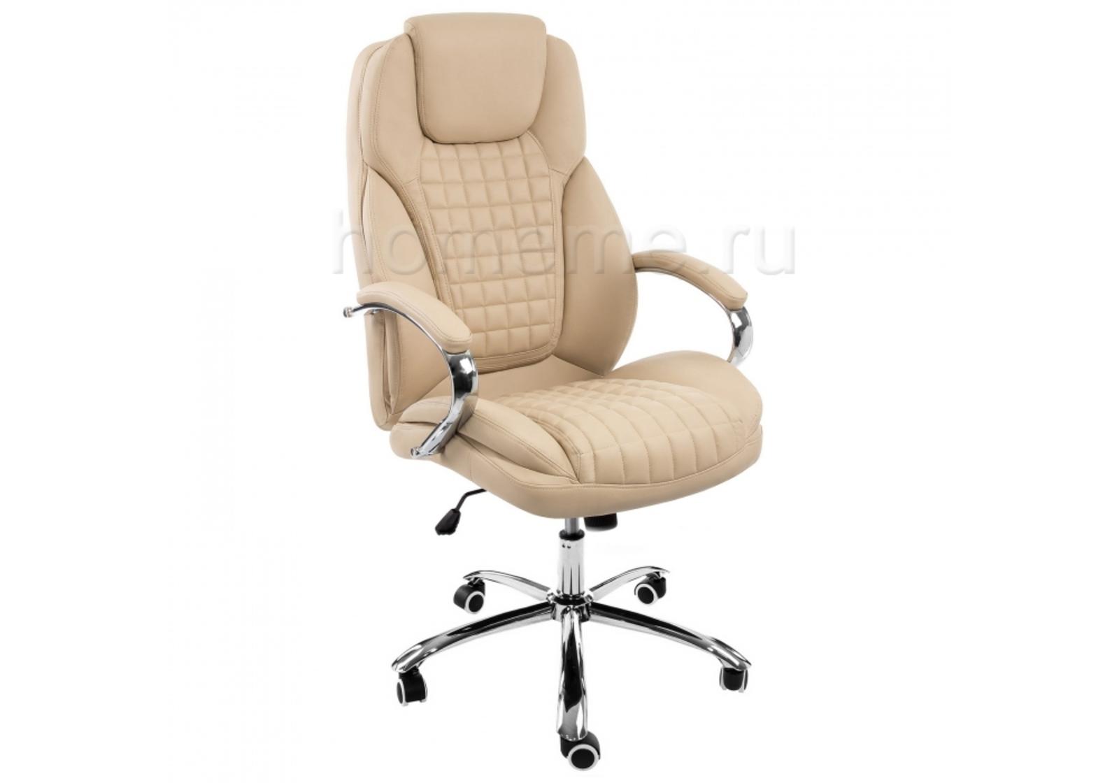 Кресло для офиса HomeMe Herd темно-бежевое 1867 от Homeme.ru
