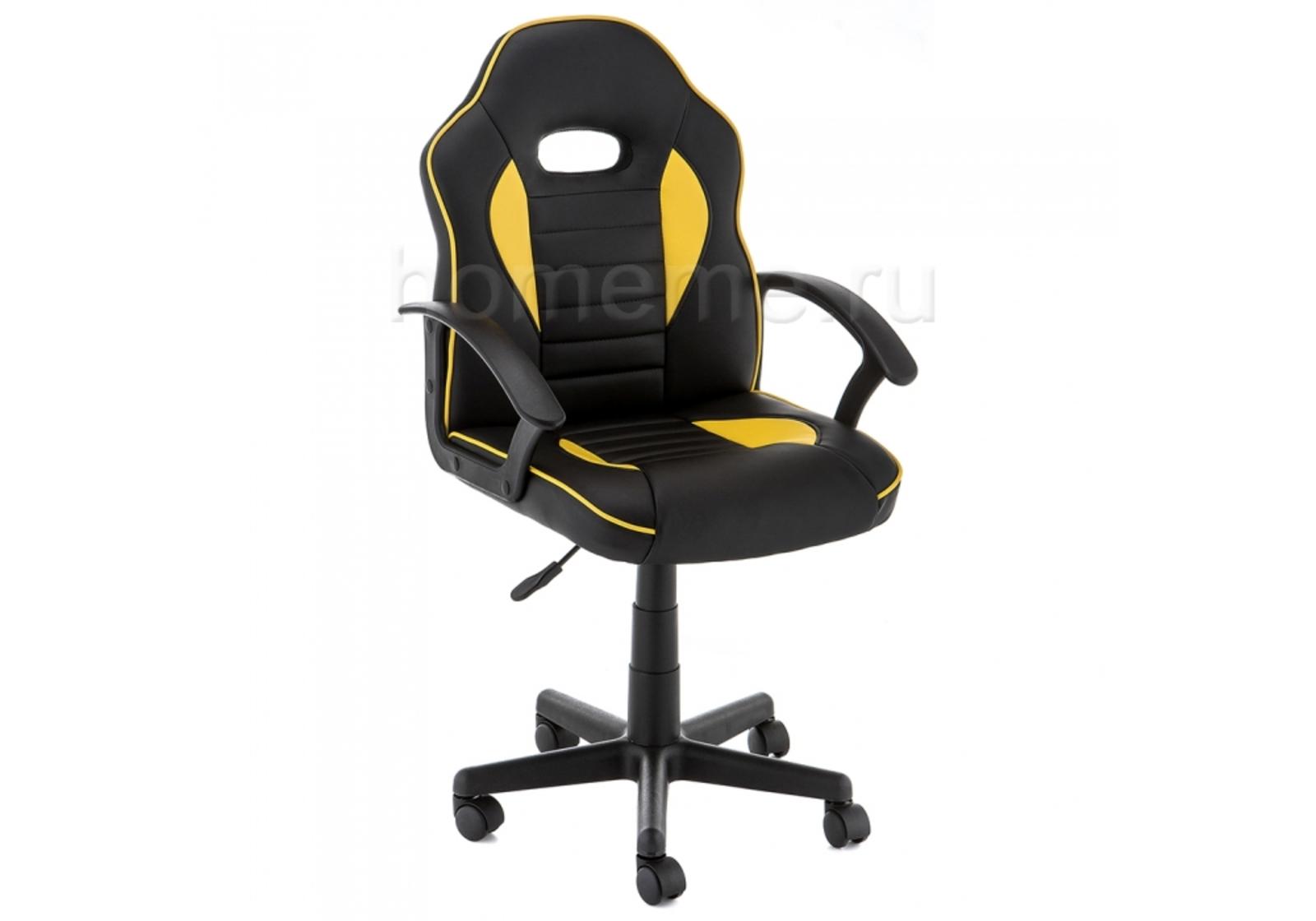 Кресло для офиса HomeMe Danger черное / желтое 11259 от Homeme.ru