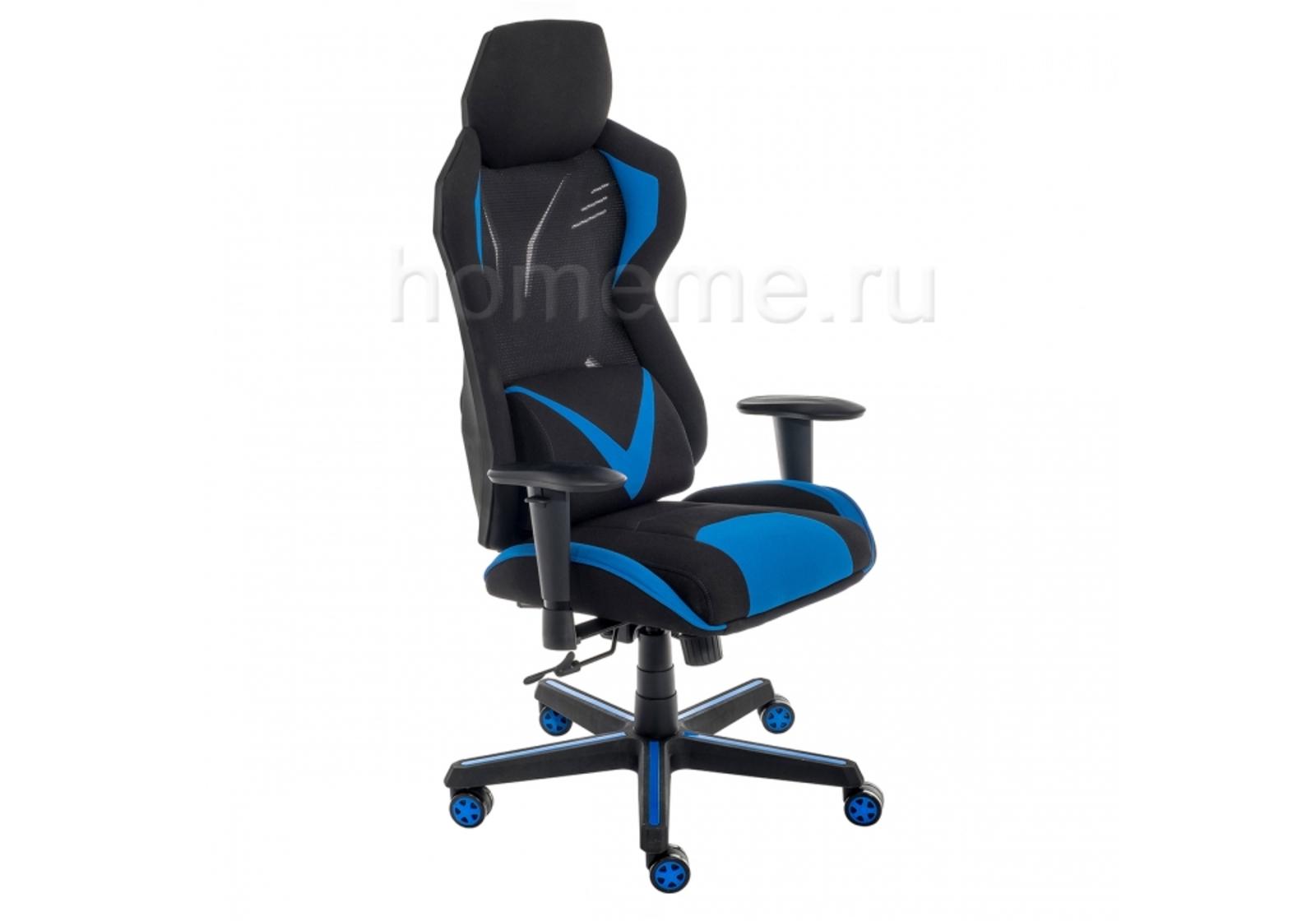 Компьютерное кресло Record синее / черное 11485 Record синее / черное 11485 (17254) фото