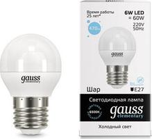 Светодиодная лампа Gauss 53236