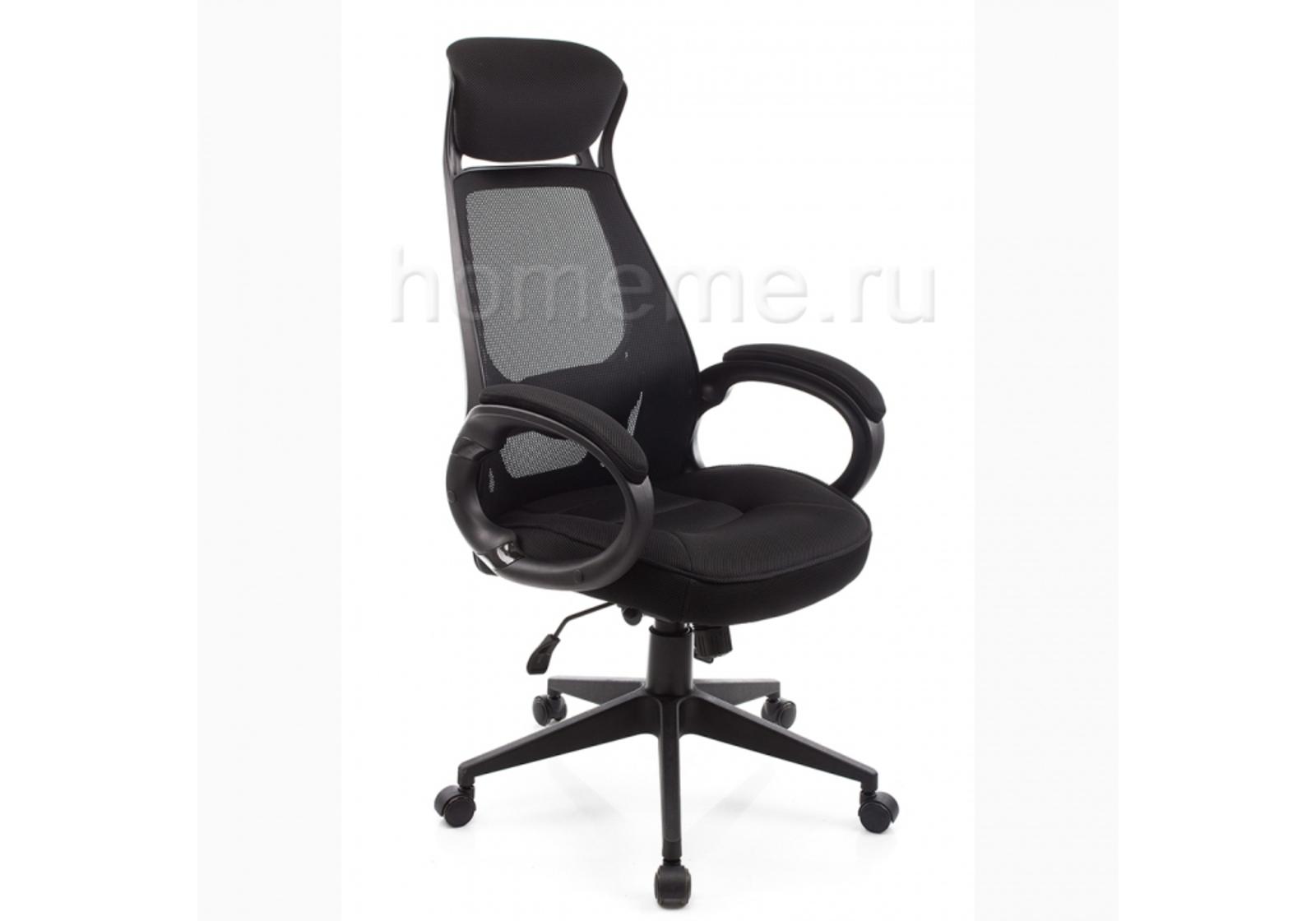 Кресло для офиса HomeMe Burgos черное 1715 от Homeme.ru