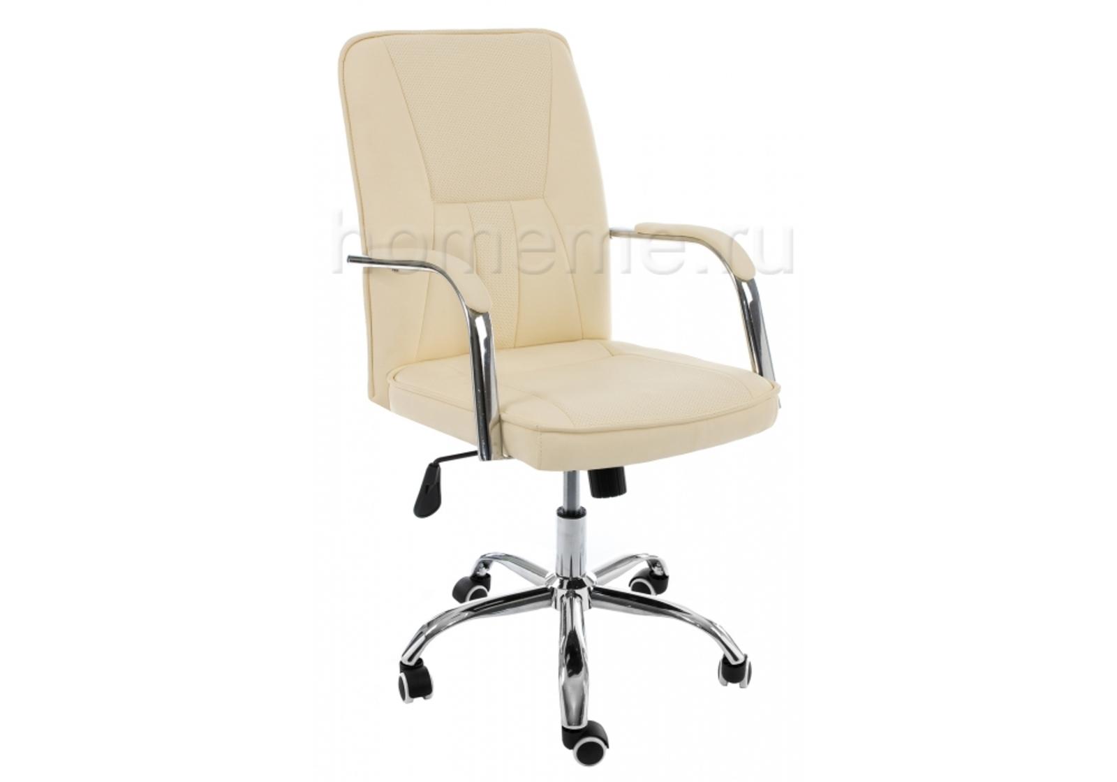 Кресло для офиса HomeMe Компьютерное кресло Nadir бежевое 11062 от Homeme.ru
