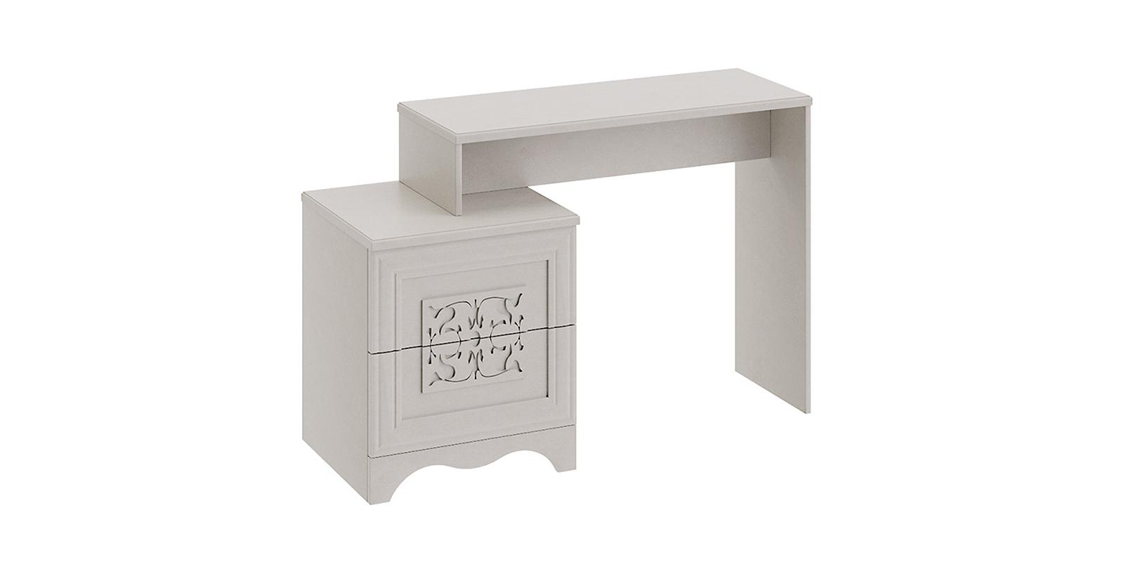 Столик туалетный Лацио вариант №1 (бежевый)