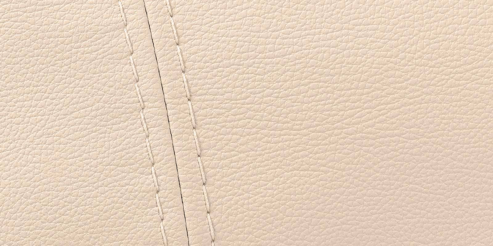 Диван кожаный угловой Бристоль Бежевый (Натуральная кожа, правый) от HomeMe.ru