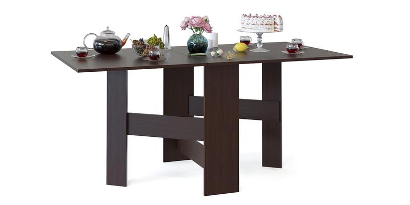 Обеденный стол Краков стол-книжка (венге)