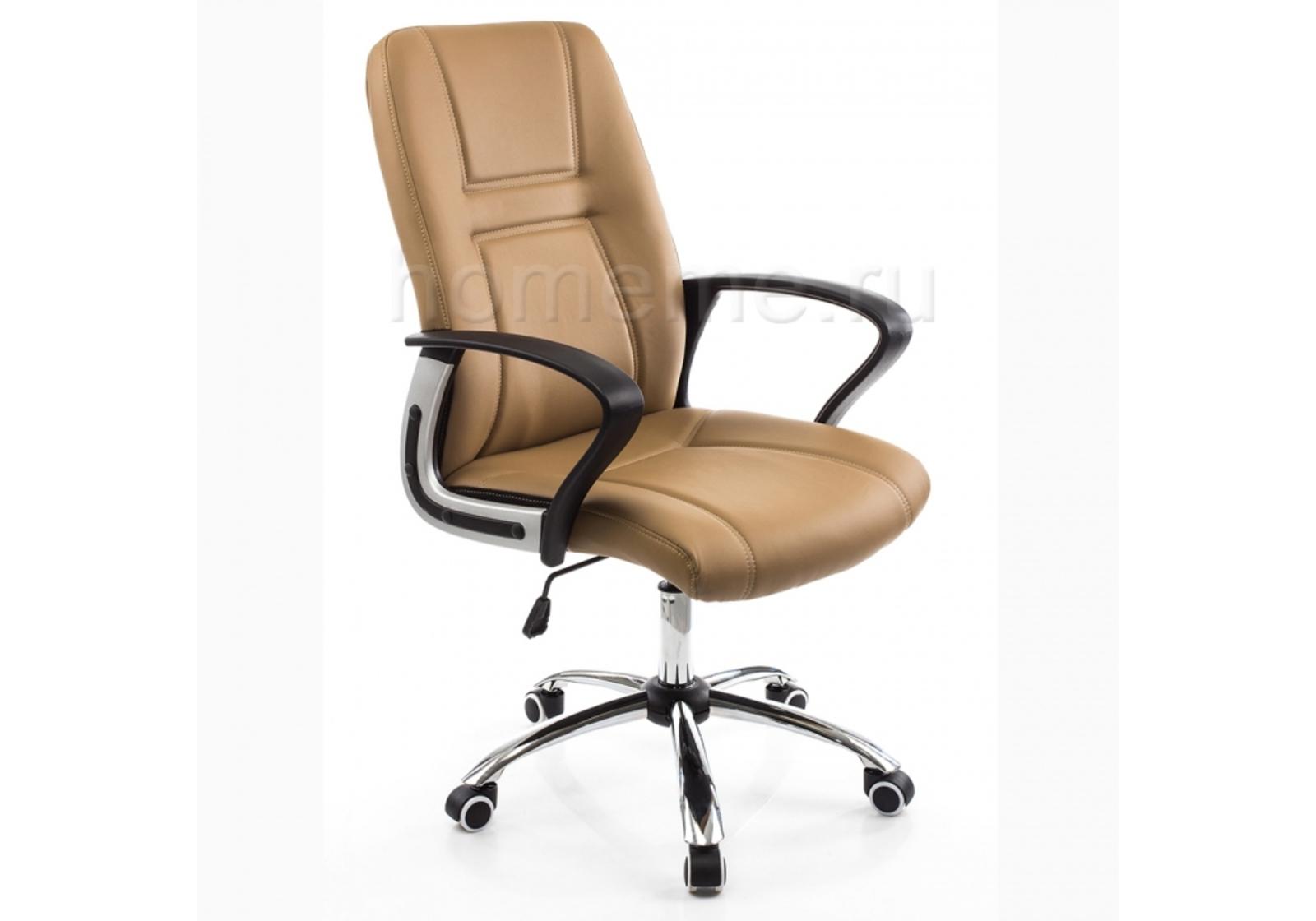 Кресло для офиса HomeMe Blanes бежевое 1734 от Homeme.ru
