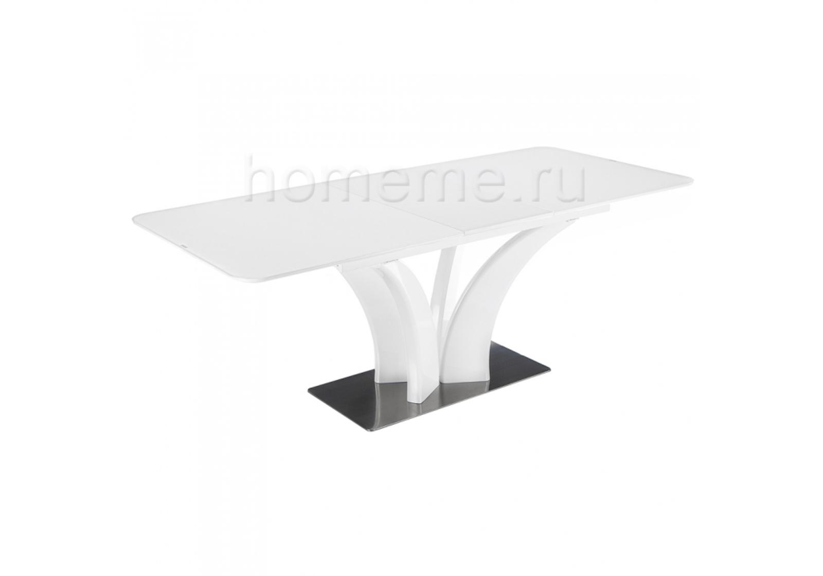 Стол стеклянный Horns 160 super white 11188 Horns 160 super white 11188 (14418)