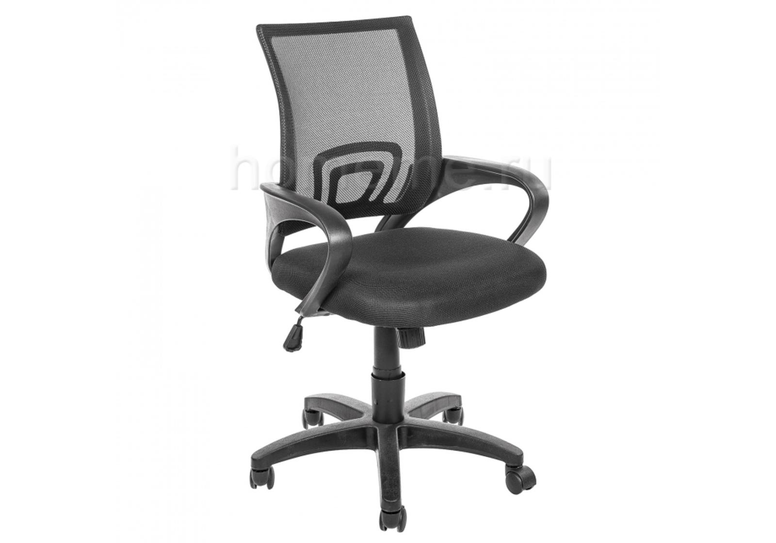 Кресло для офиса HomeMe Turin черное 1478 от Homeme.ru