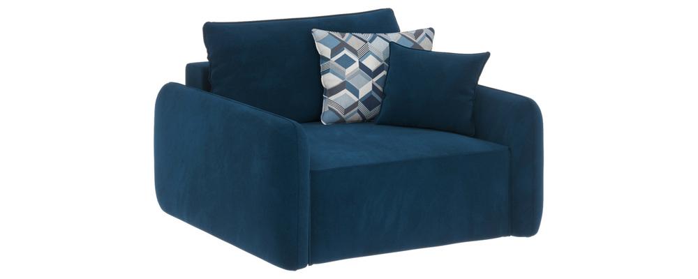 Модульный диван Портленд Premier светло-синий (Микровелюр)