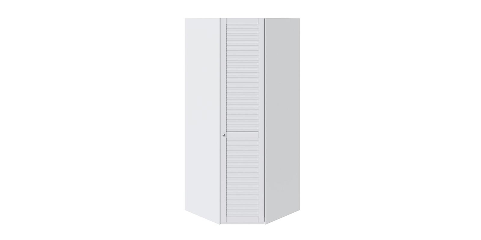 Шкаф распашной угловой Мерида вариант №4 правый (белый)