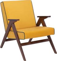 Кресло для отдыха Вест Орех, ткань Fancy 48, кант Fancy 37