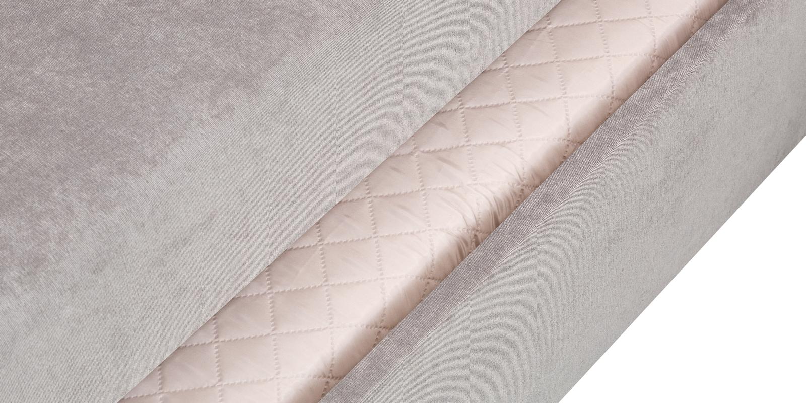 Диван тканевый угловой Турин Dana светло-серый (Вельвет)
