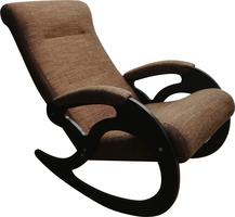 Кресло качалка Венера/Темный орех/Темно-коричневый БИНГО 19