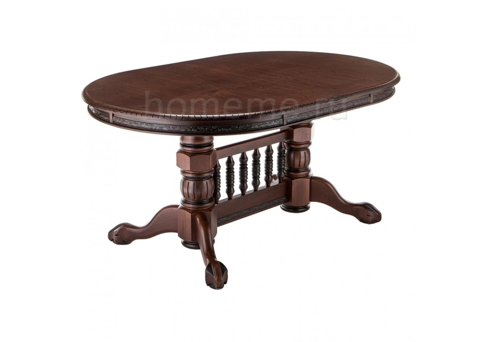 Стол деревянный Кантри орех с коричневой патиной 296161 Кантри орех с коричневой патиной 296161 (14225) фото